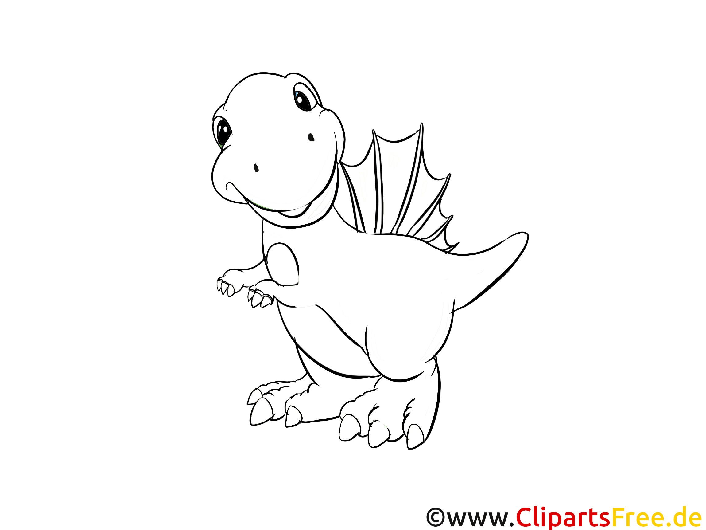 Dino Malvorlagen  Dinosaurier Ausmalbilder für Kinder