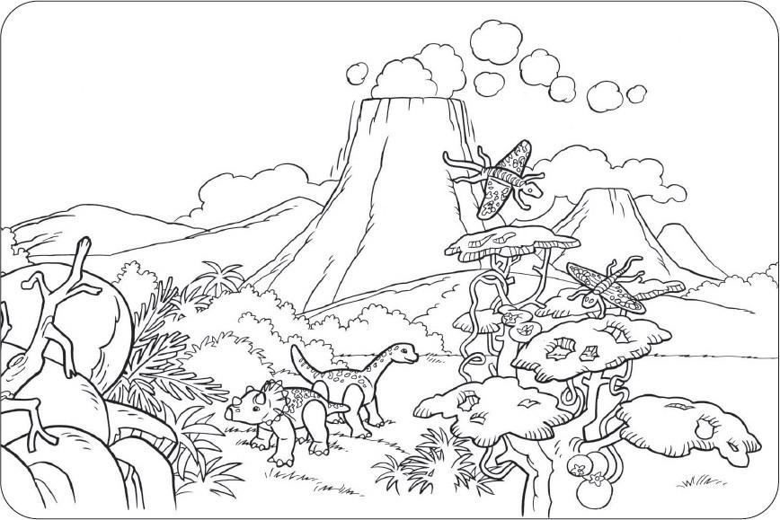 Dinosaurier Kampf Ausmalbilder  Ausmalbilder dinosaurier Ausmalbilder zum ausdrucken
