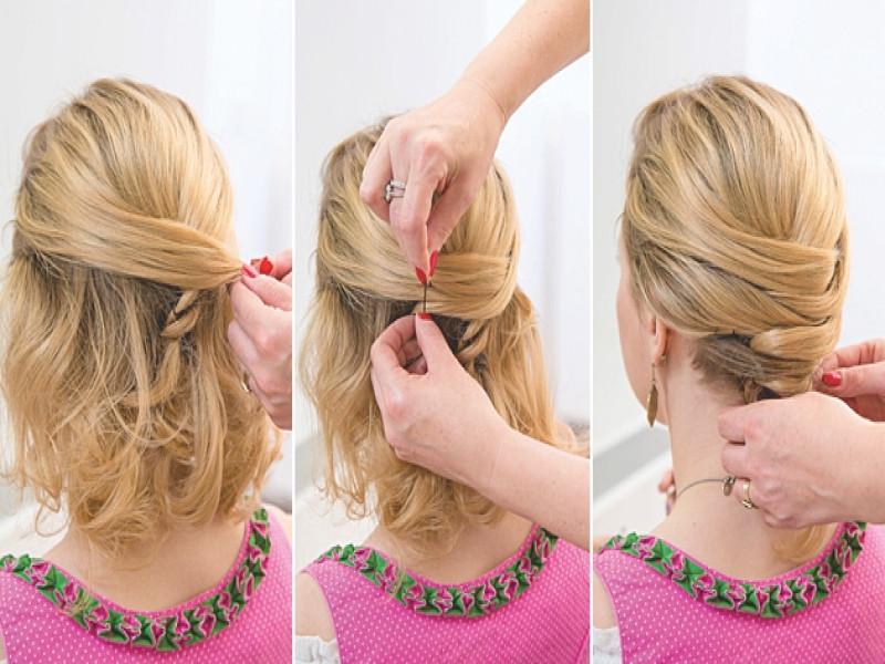 Dirndl Frisuren Einfach  Dirndl Frisuren Einfach