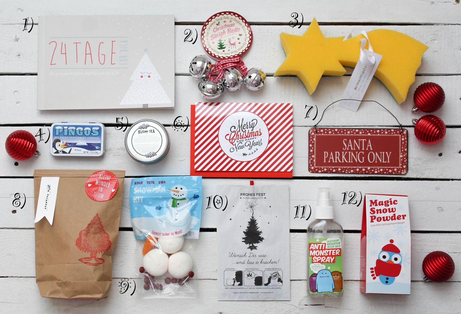 Diy Adventskalender Beste Freundin  DIY Adventskalender Ideen Nr 2 Für beste Freundin