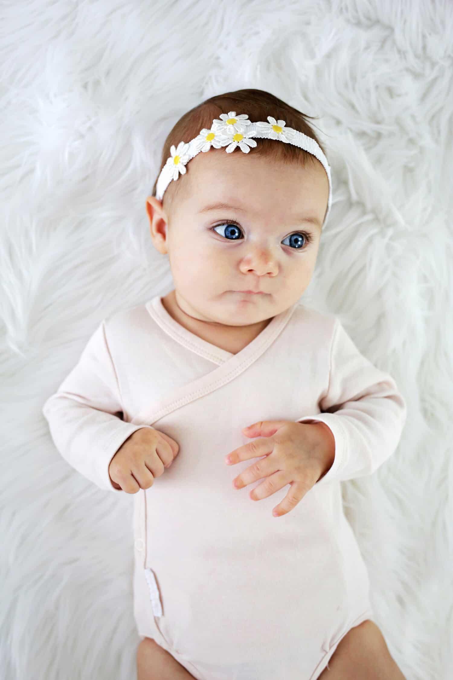 Diy Baby  Baby Headband DIY 3 Ways and No Sew A Beautiful Mess