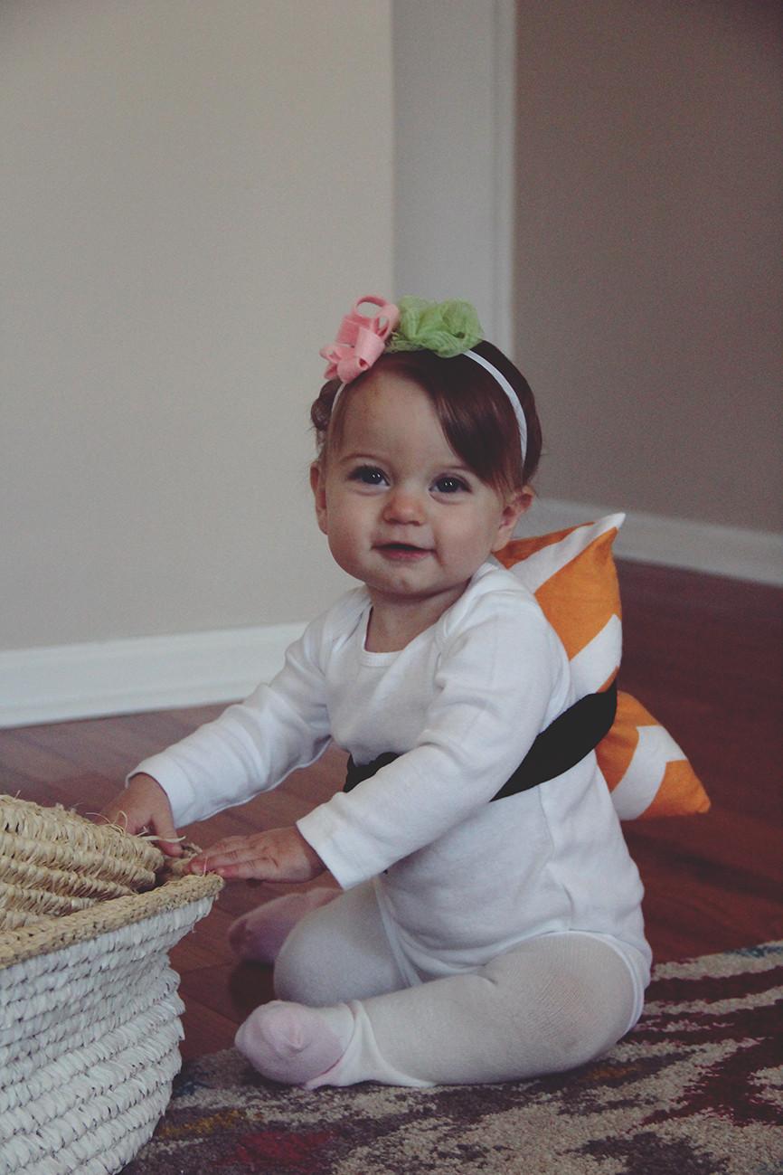 Diy Baby  halloween costume DIY baby sushi – really risa