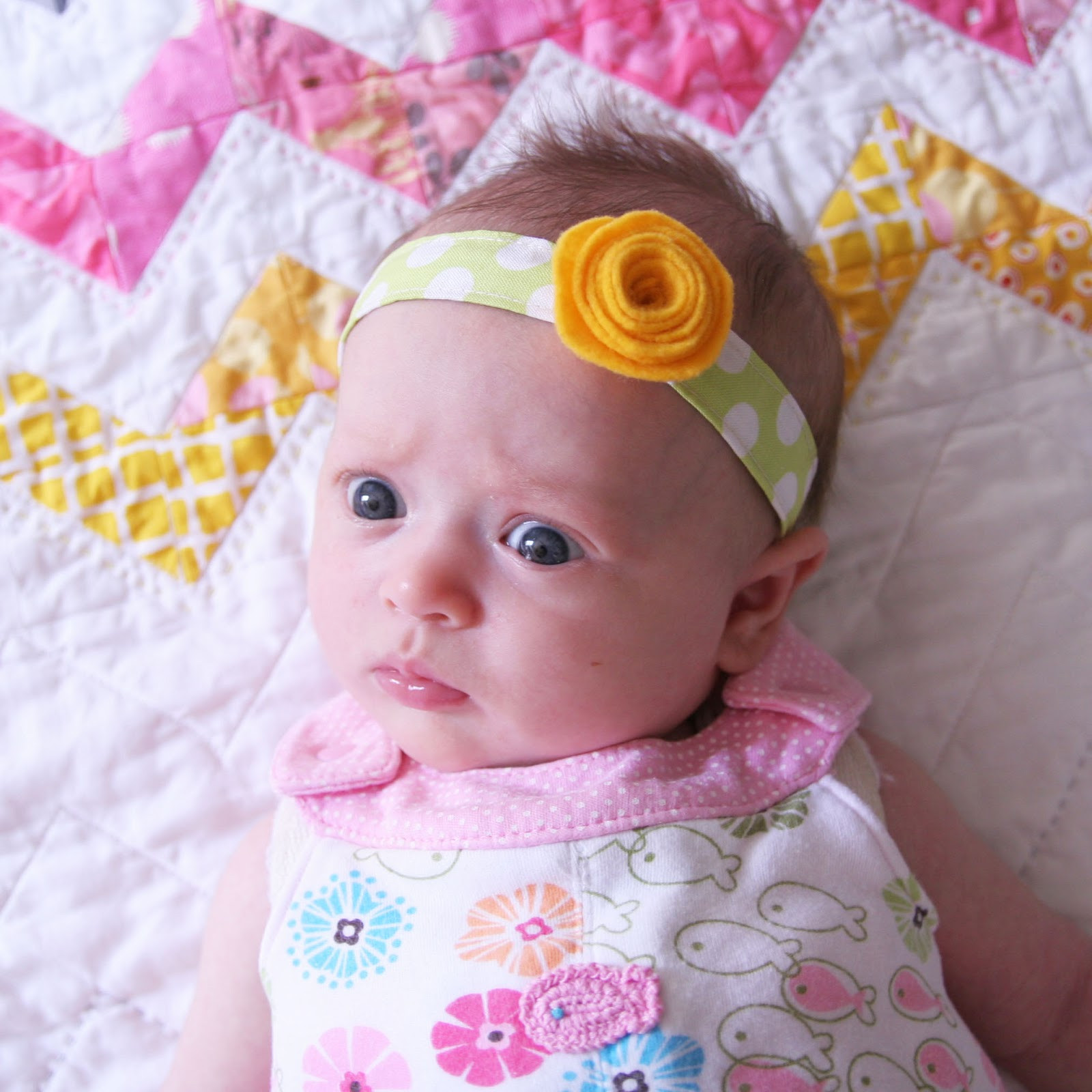Diy Baby  DIY Baby Headband Homemade Ginger