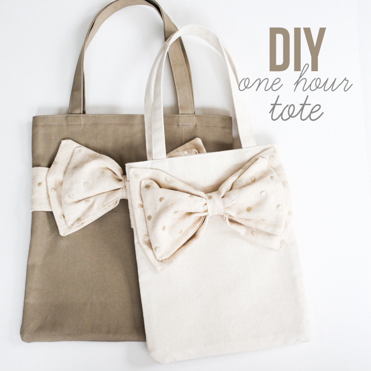 Diy Bag  ELM STREET LIFE DIY e hour tote in two sizes