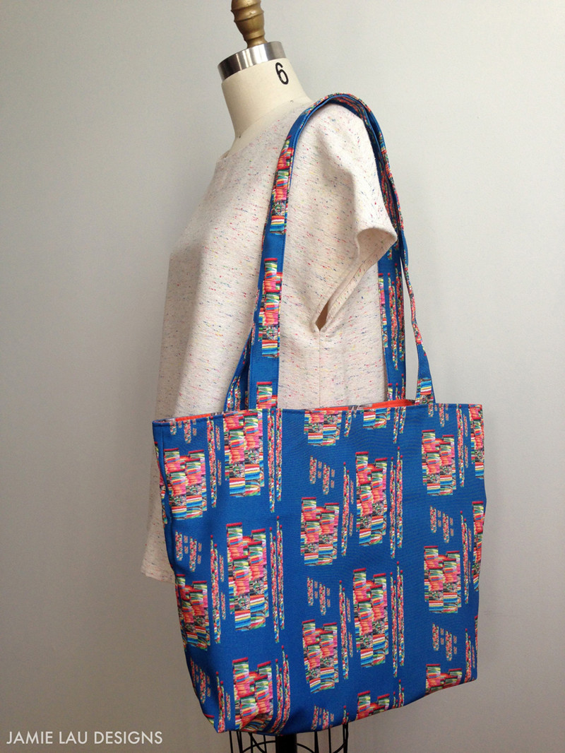 Diy Bag  Stitch Up a Lined and Reversible Tote Bag