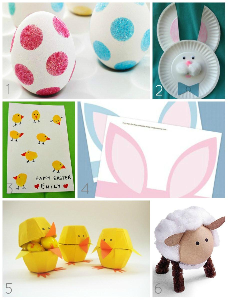 Diy Bastelideen  DIY 10 Bastelideen für Ostern auch Kindern Spass