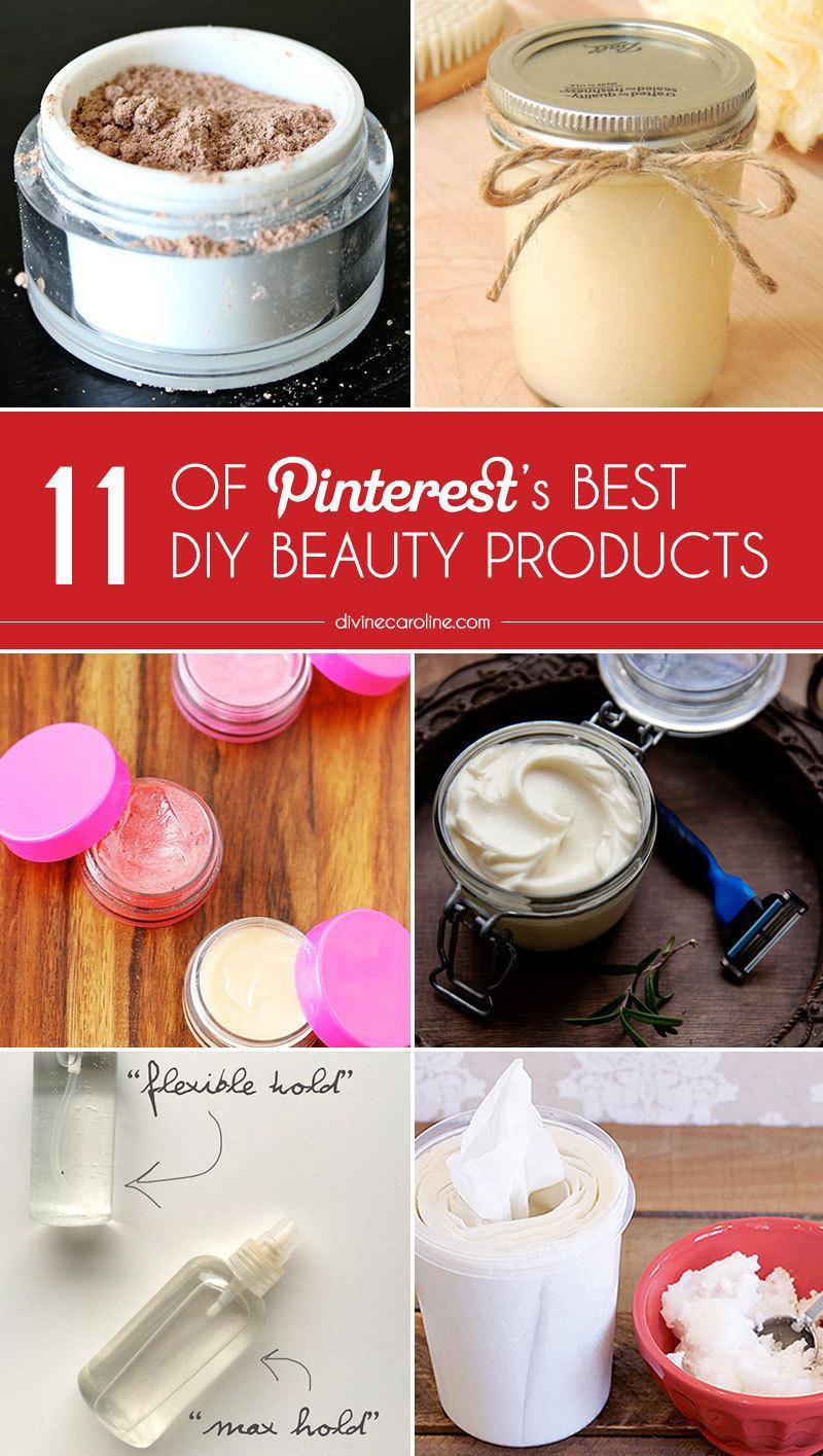 Diy Beauty  11 of Pinterest s Best DIY Beauty Products