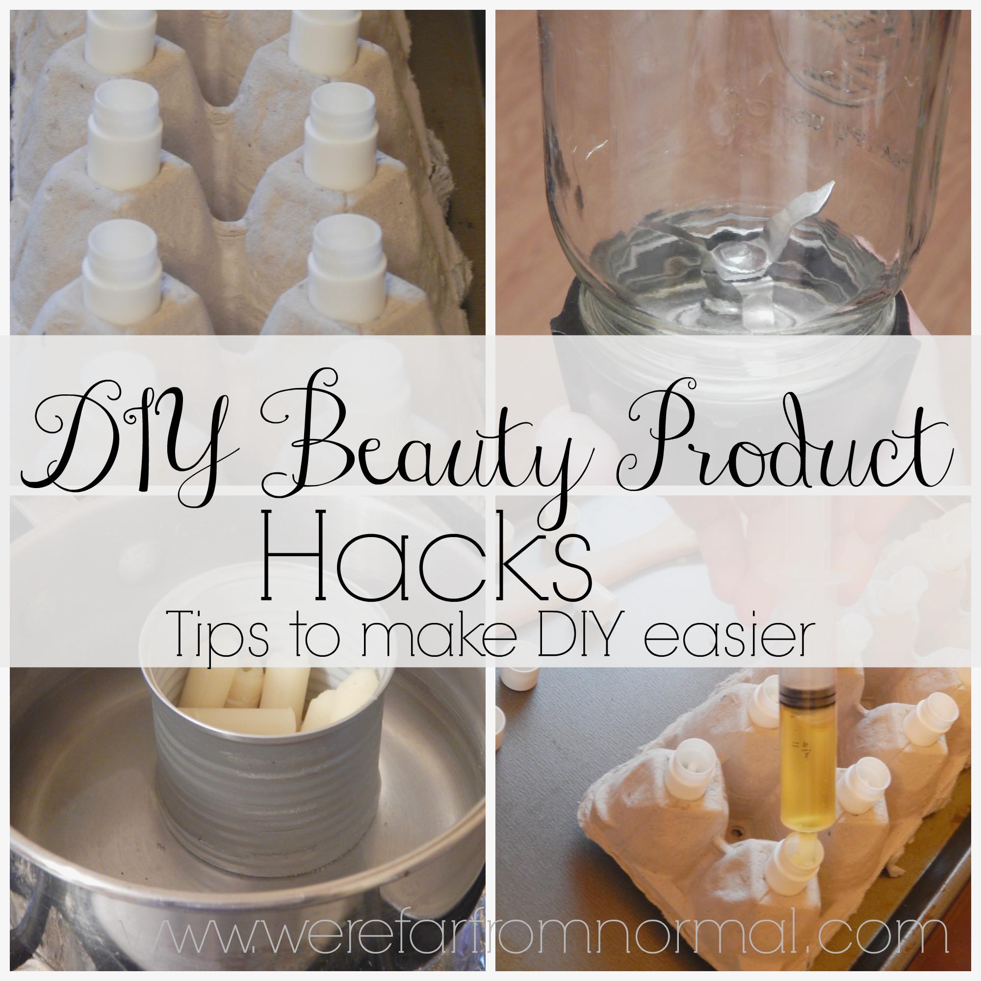 Diy Beauty  DIY Beauty Product Hacks
