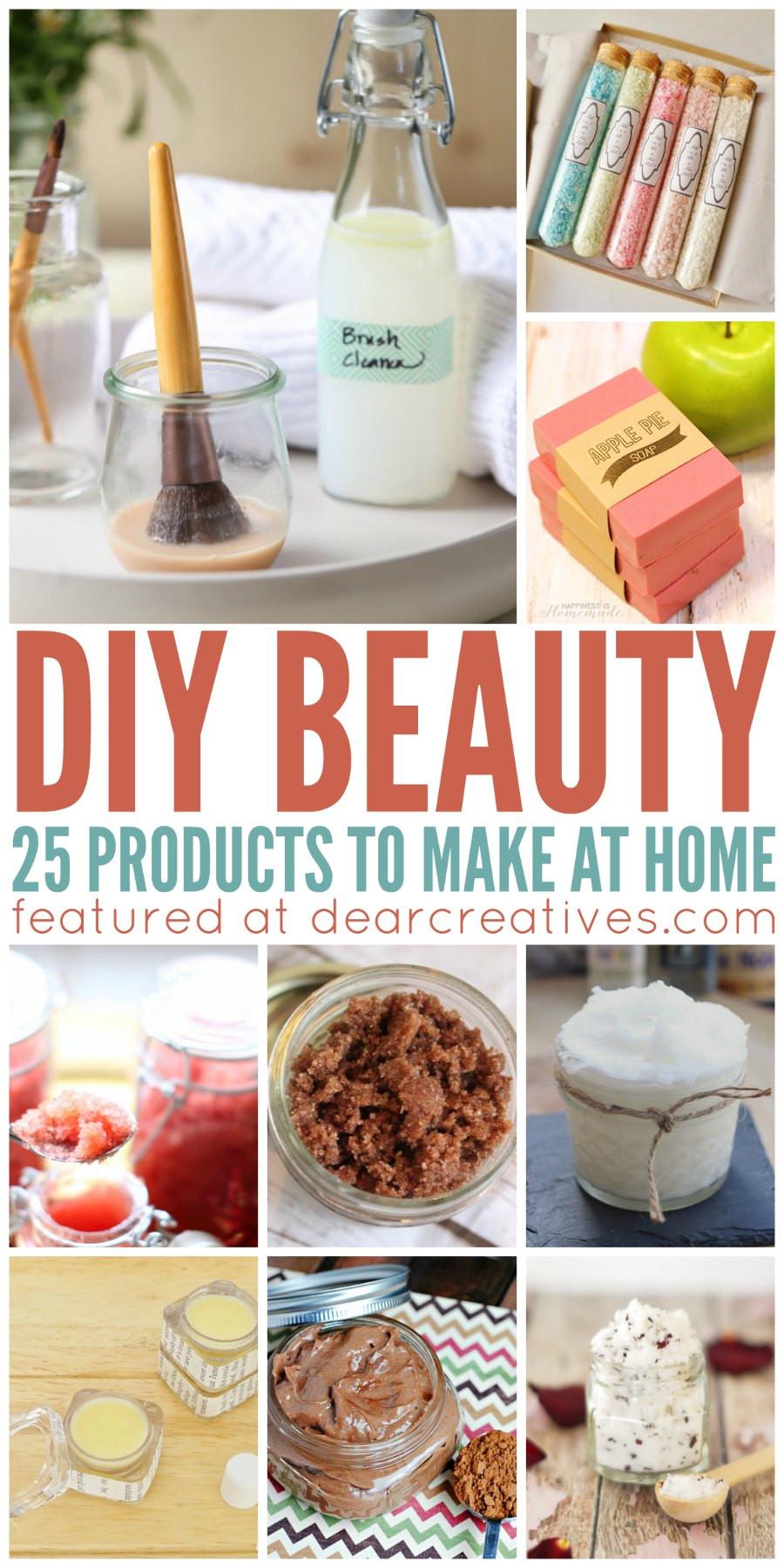 Diy Beauty  DIY Beauty 25 Must Try Homemade DIY Beauty Products