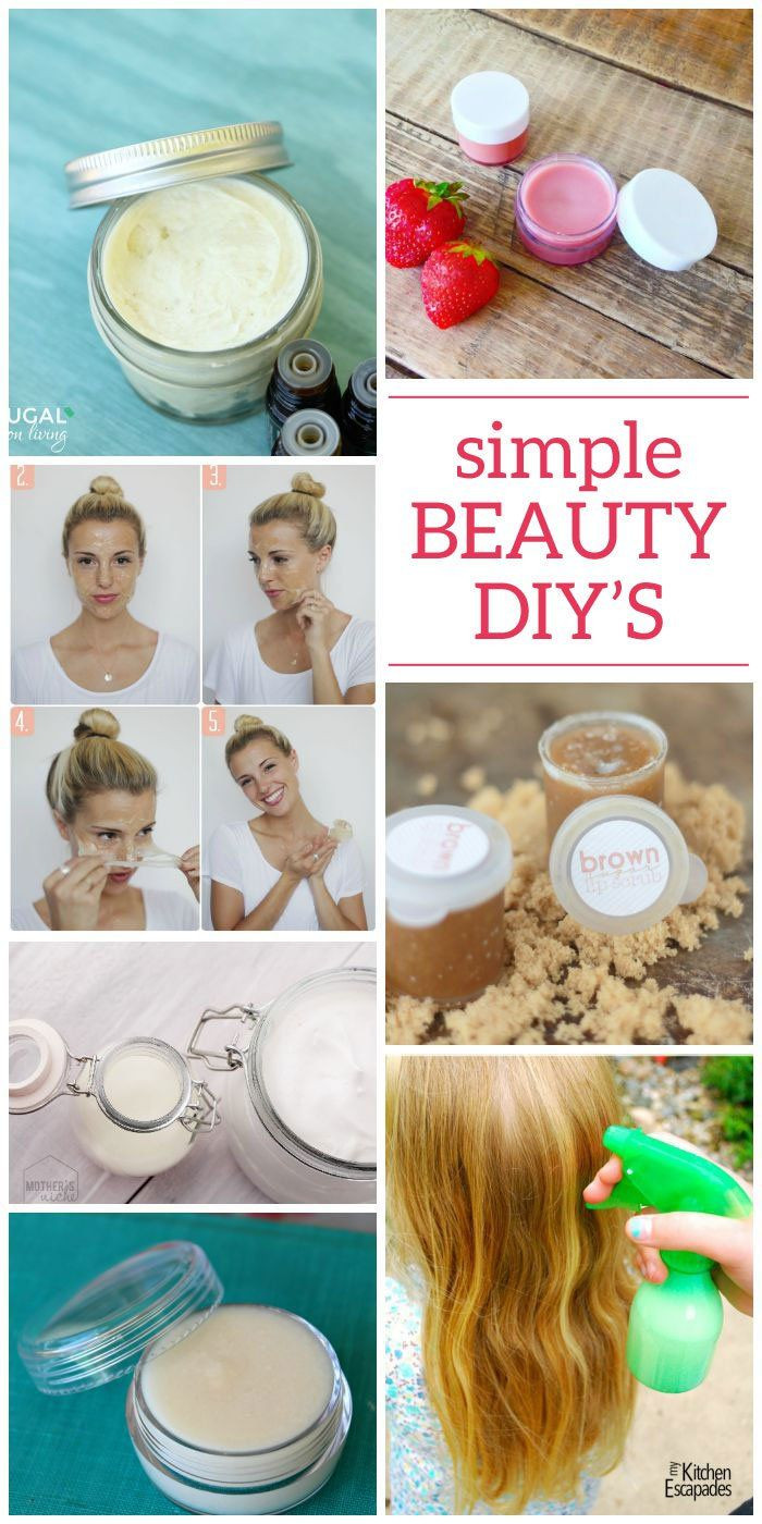 Diy Beauty  15 DIY Beauty Products You Can Make Today