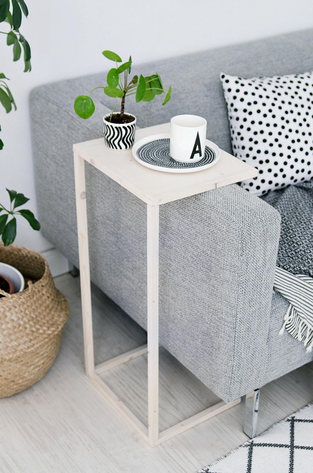 Diy Beistelltisch  Simpler DIY Beistelltisch Gewinner der Stelton Verlosung