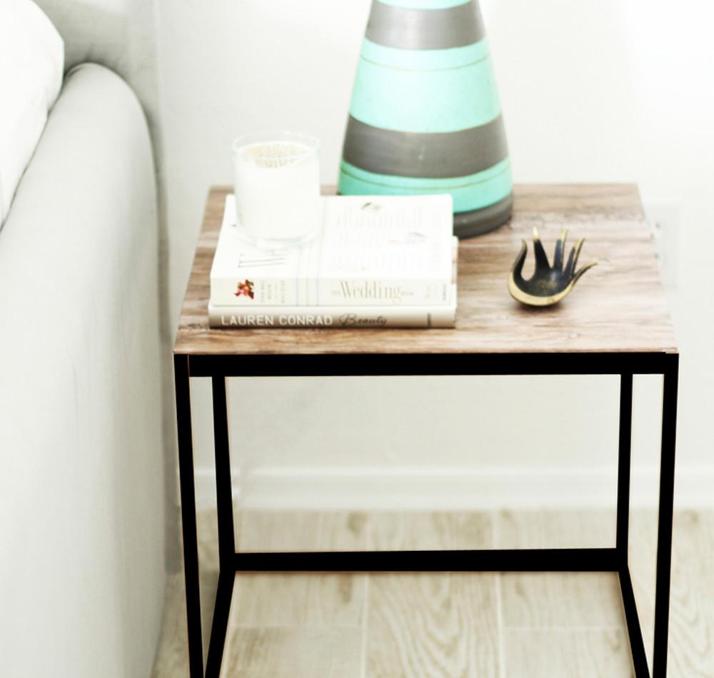 Diy Beistelltisch  DIY Tutorial Ikea Beistelltisch Makeover