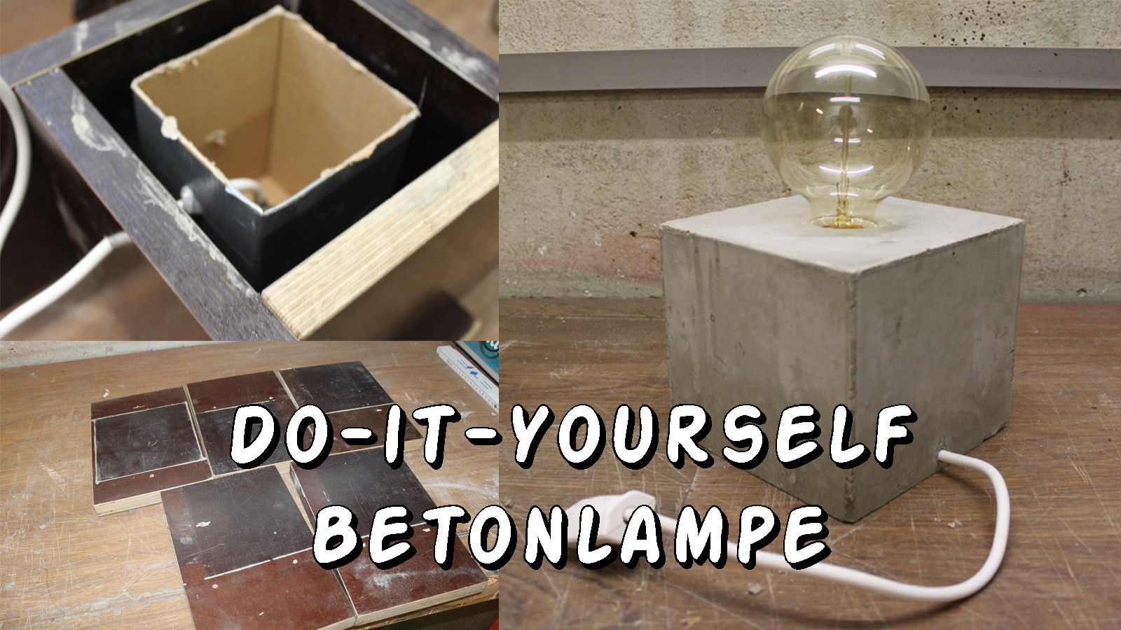 Diy Betonlampe  Do It Yourself Betonlampe Daytrippers