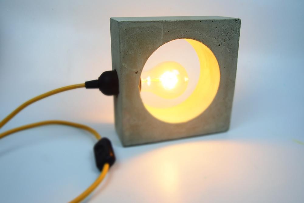 Diy Betonlampe  DIY Tutorial Beton Lampe – Karen Rose