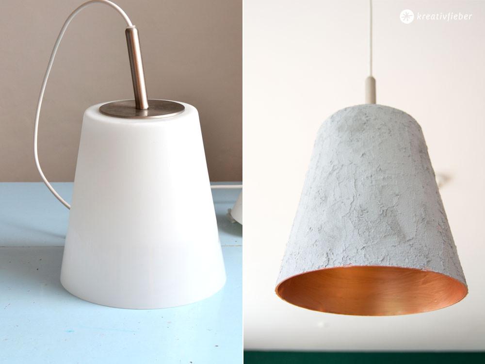 Diy Betonlampe  DIY einfache Betonlampe ohne zu Gießen