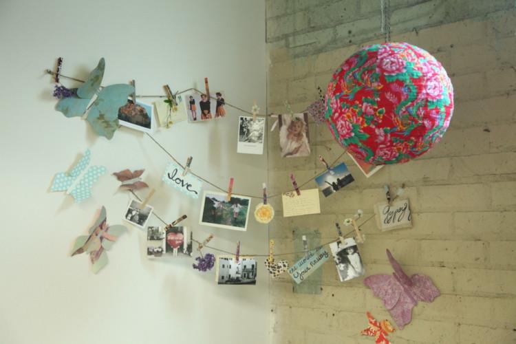 Diy Bilder  Deko Ideen fürs Wohnzimmer 33 DIY Inspirationen