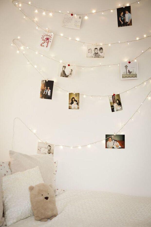 Diy Bilder  21 tolle und stimmungsvolle DIY Wohndeko Ideen mit