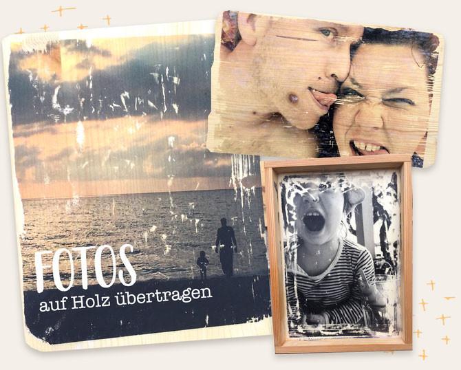 Diy Bilder  DIY Fotos auf Holz übertragen Lybstes