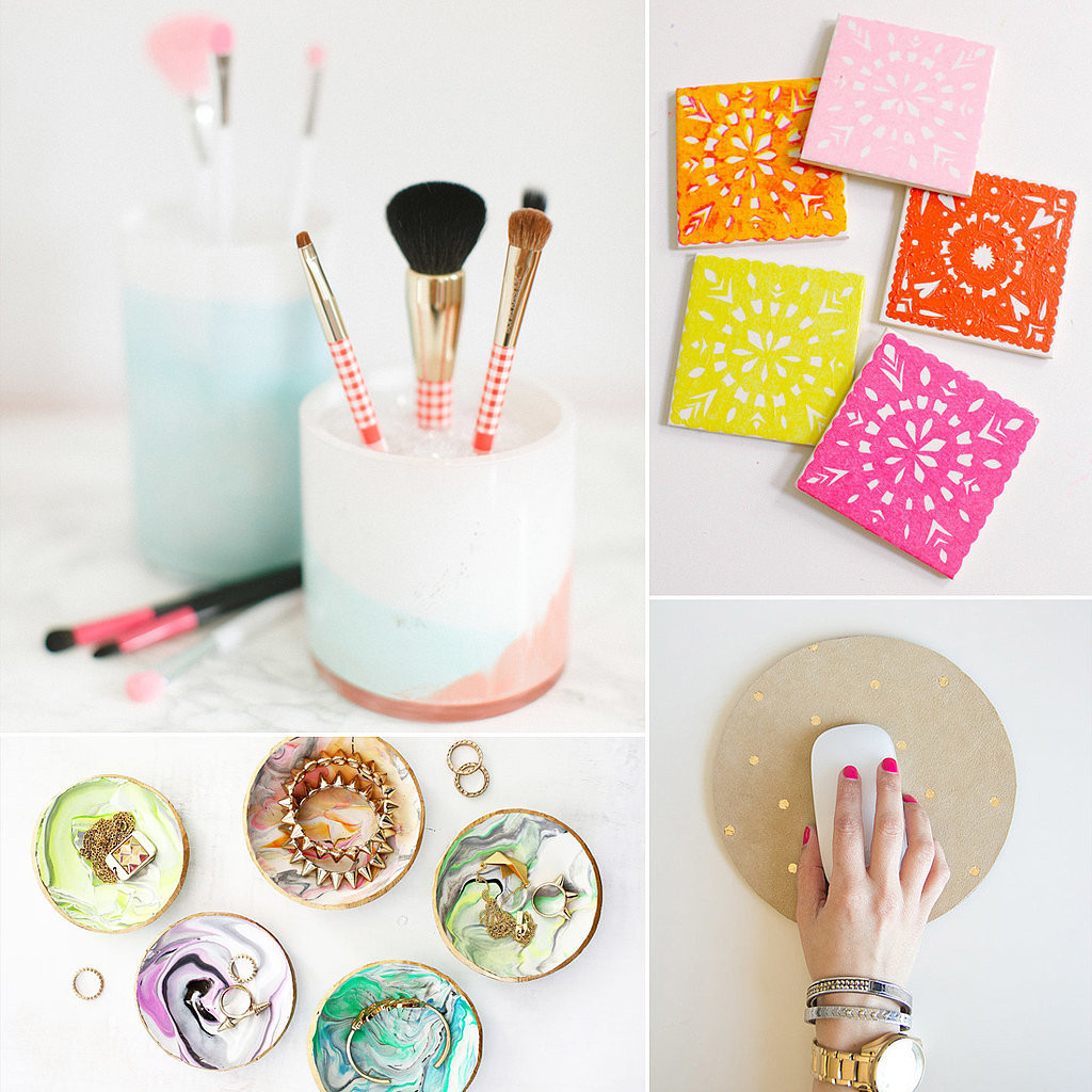 Diy Bilder  37 DIY Home Gifts That Looks Expensive New Craft Works