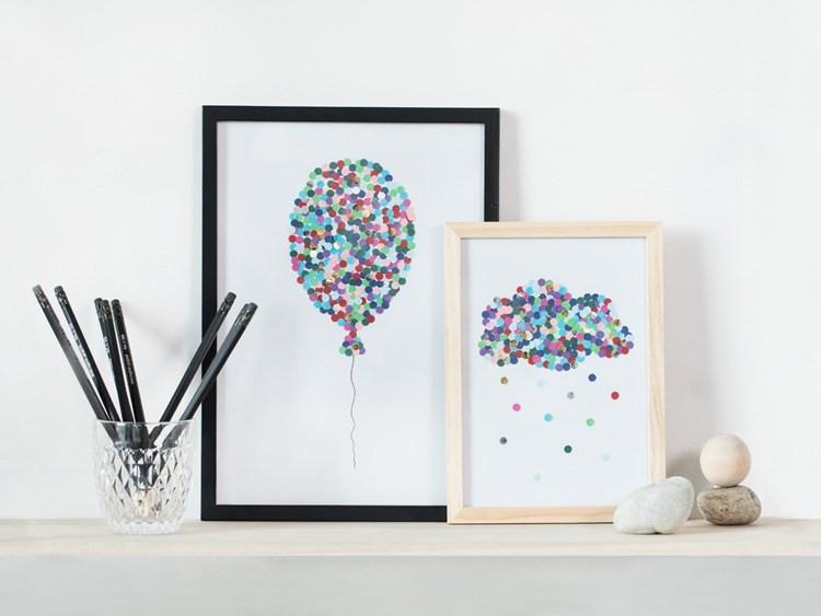 Diy Bilder  DIY – Kunstwerke mit dem Locher