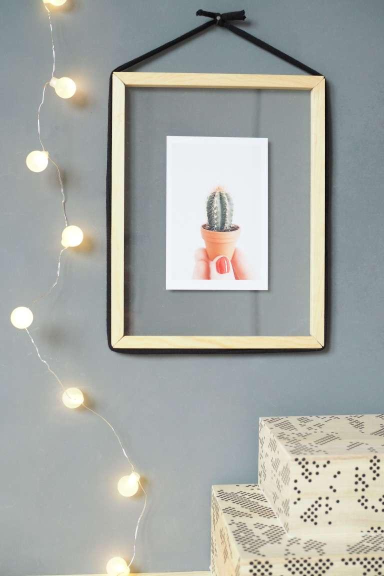 Diy Bilderrahmen  DIY Design Bilderrahmen zum Befüllen