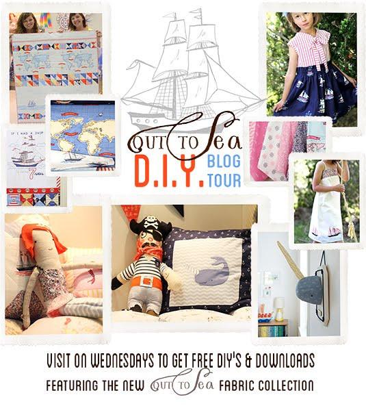 Diy Blog  Tea Rose Home Out to Sea DIY Blog Tour Tutorial Narwhal