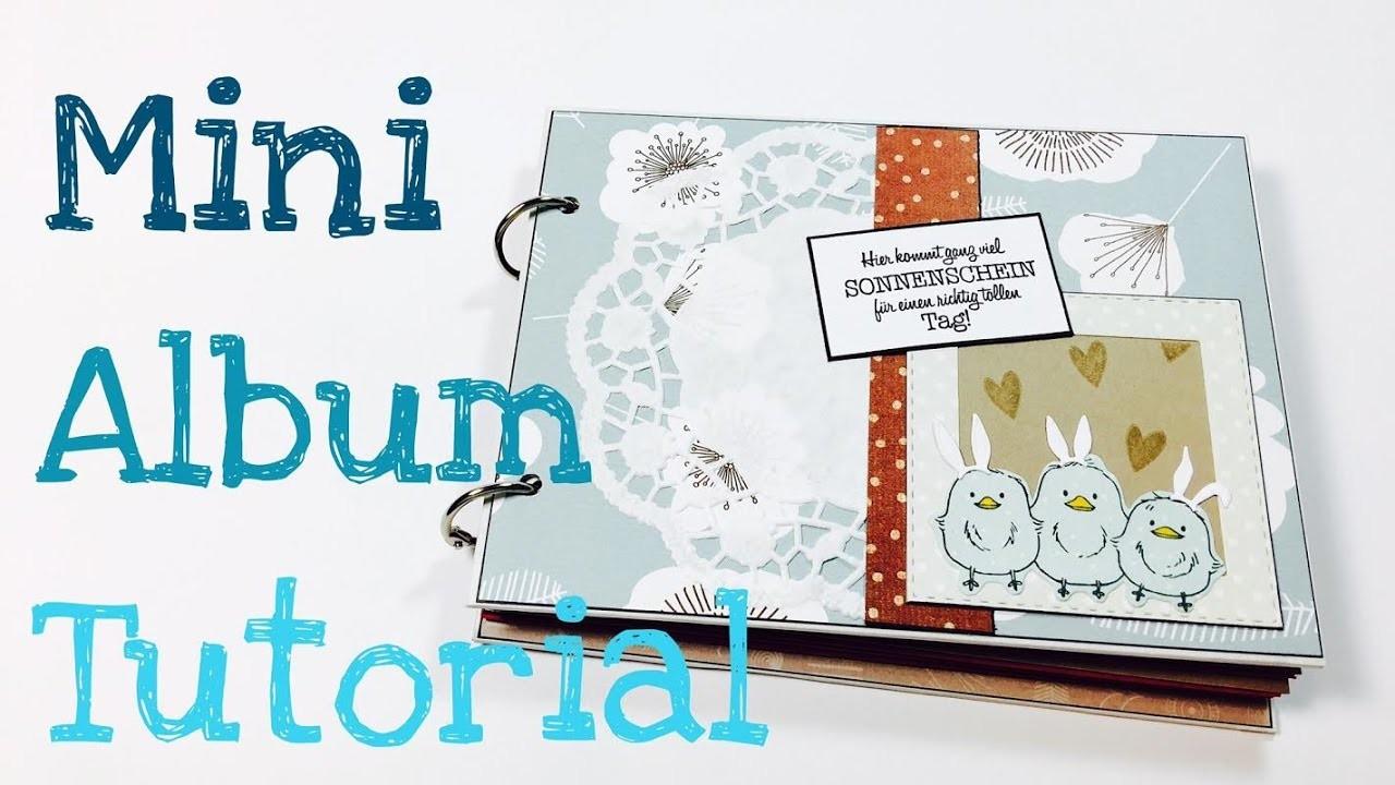 Diy Blog Deutsch  DIY 30 Minunten Mini Album [tutorial deutsch] Blog Hop