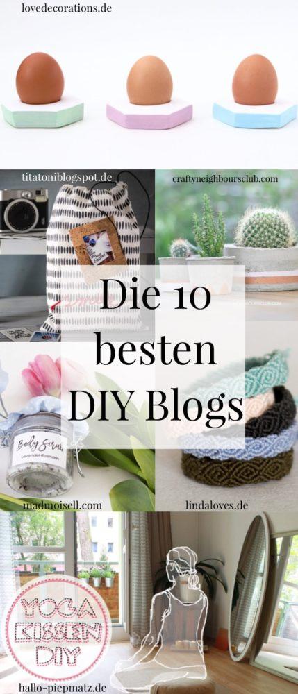 Diy Blog Deutsch  DIY Blogs in Deutschlands meine Top 10 DIY Blog Übersicht