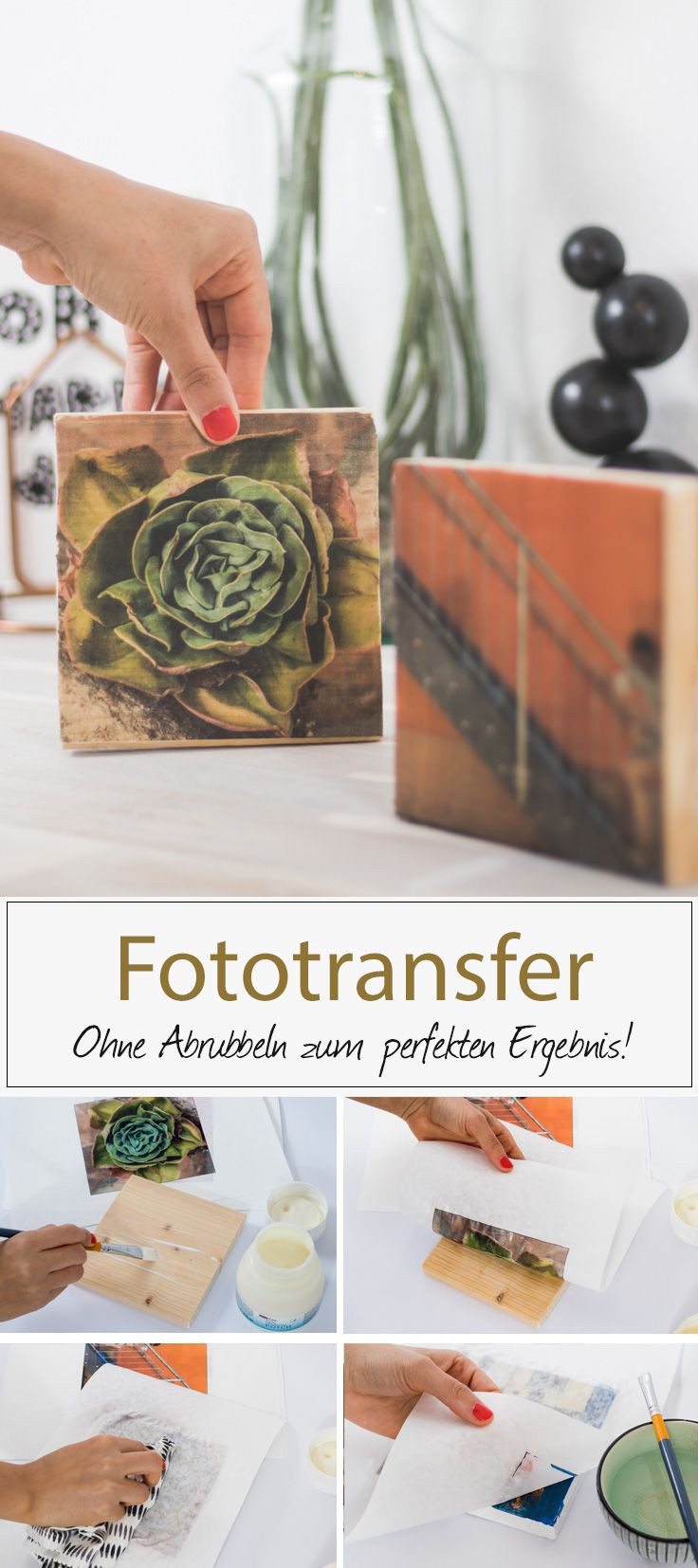 Diy Blog Deutsch  Fototransfer mit Fotopotch noch besser mit speziellem
