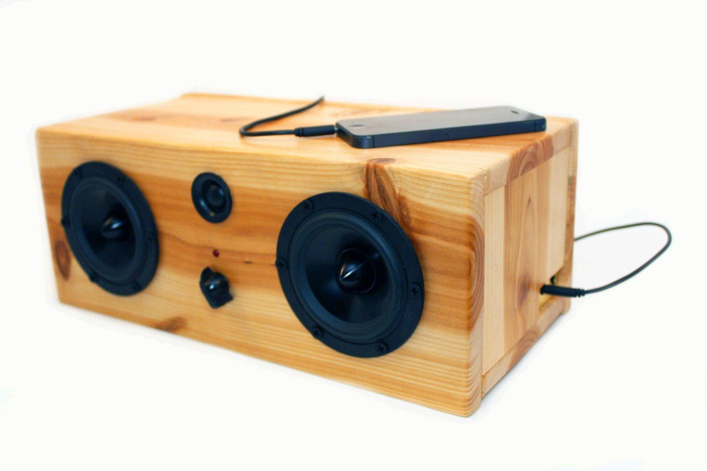 Diy Bluetooth Box  NEW Bluetooth Reclaimed Wood Speakers Handmade door