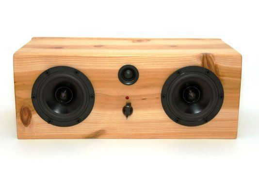 Diy Bluetooth Box  Hand Crafted Bluetooth Speaker System Big Pine Box by
