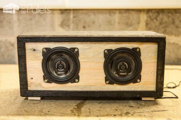 Diy Bluetooth Box  Diy Tutorial Pallet Bluetooth Speaker Box Enceinte