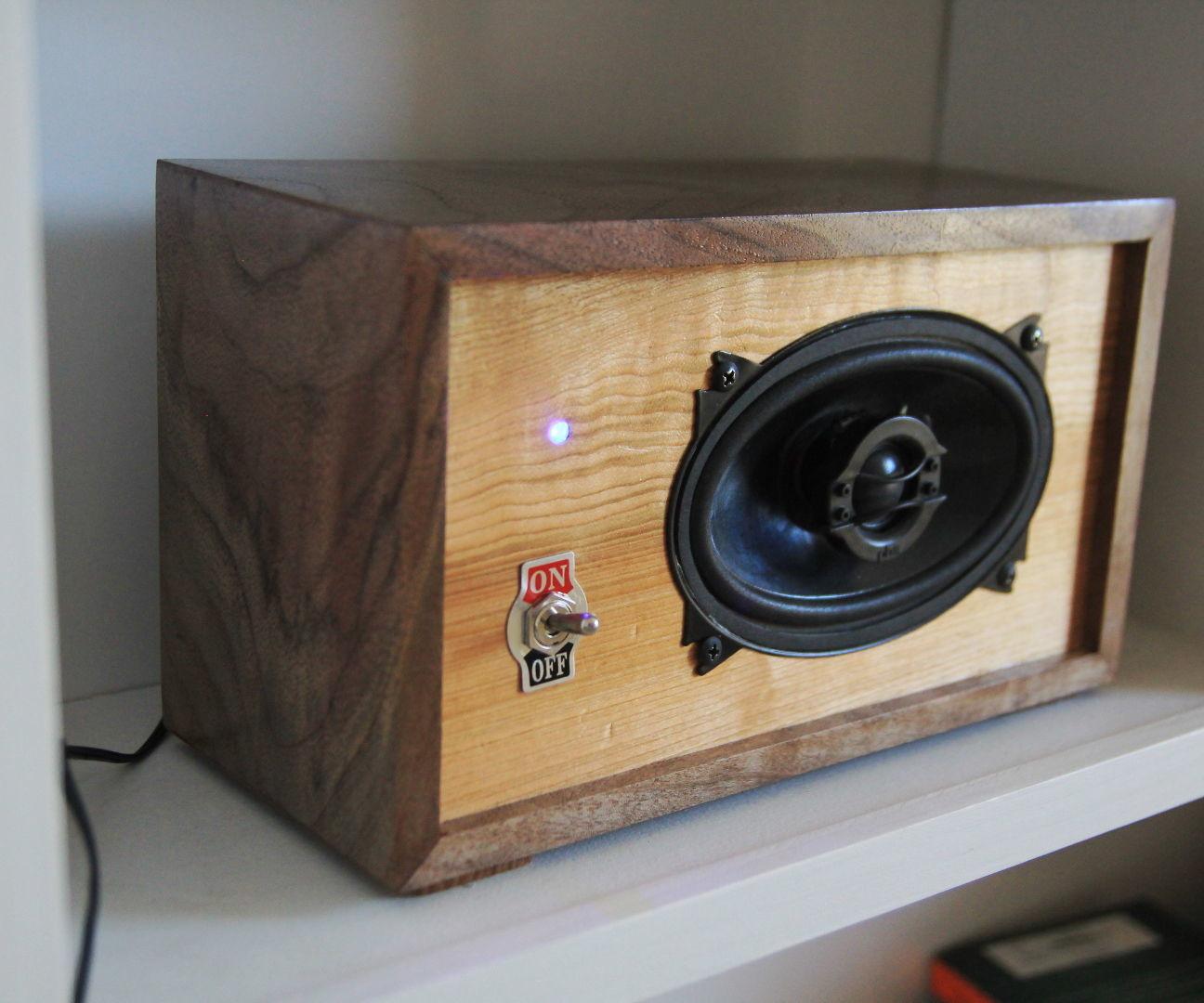 Diy Bluetooth Box  DIY Bluetooth Bookshelf Speaker 3