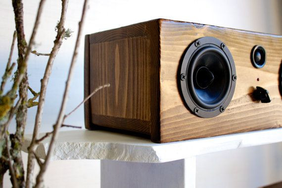 Diy Bluetooth Box  NEW Bluetooth Wood Speaker System Handmade From