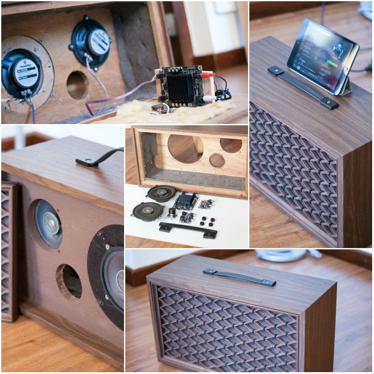Diy Bluetooth Box  Turn an old loudspeaker into a self amplified bluetooth