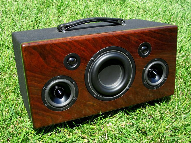 Diy Bluetooth Box  Best 25 Custom speaker boxes ideas only on Pinterest