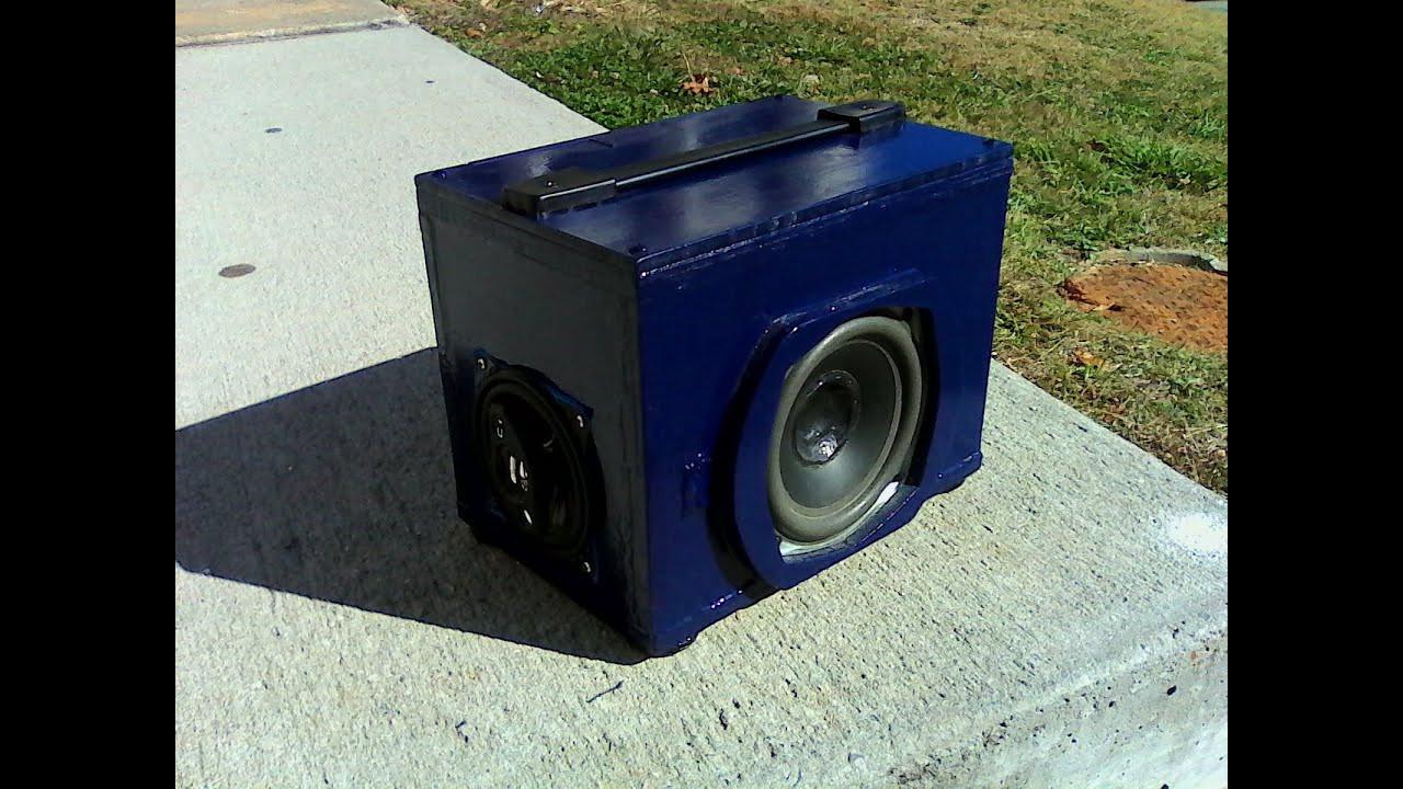 Diy Bluetooth Box  DIY Bluetooth Boombox