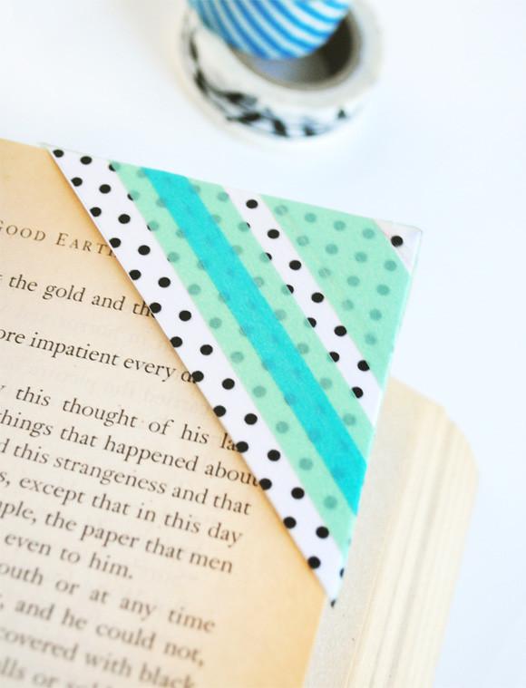 Diy Bookmark  DIY Washi Tape Bookmarks