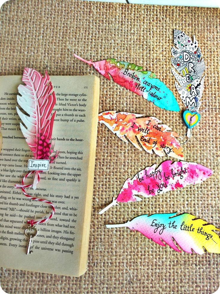 Diy Bookmark  15 Pretty DIY Bookmarks for Teens to Get Creative and Treasure