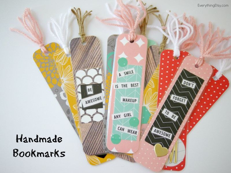Diy Bookmark  DIY Bookmarks for your Bookworms
