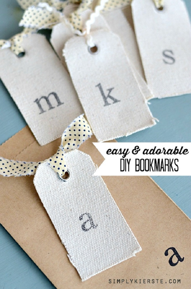 Diy Bookmark  Top 10 DIY Bookmarks for the Creative Reader Top Inspired