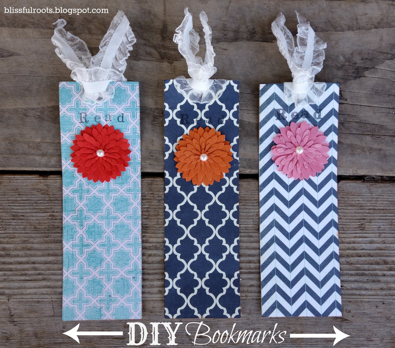 Diy Bookmark  BLISSFUL ROOTS DIY Bookmarks