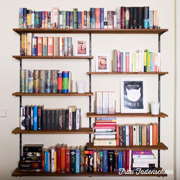 Diy Bücherregal  Bücherregal selbst gebaut