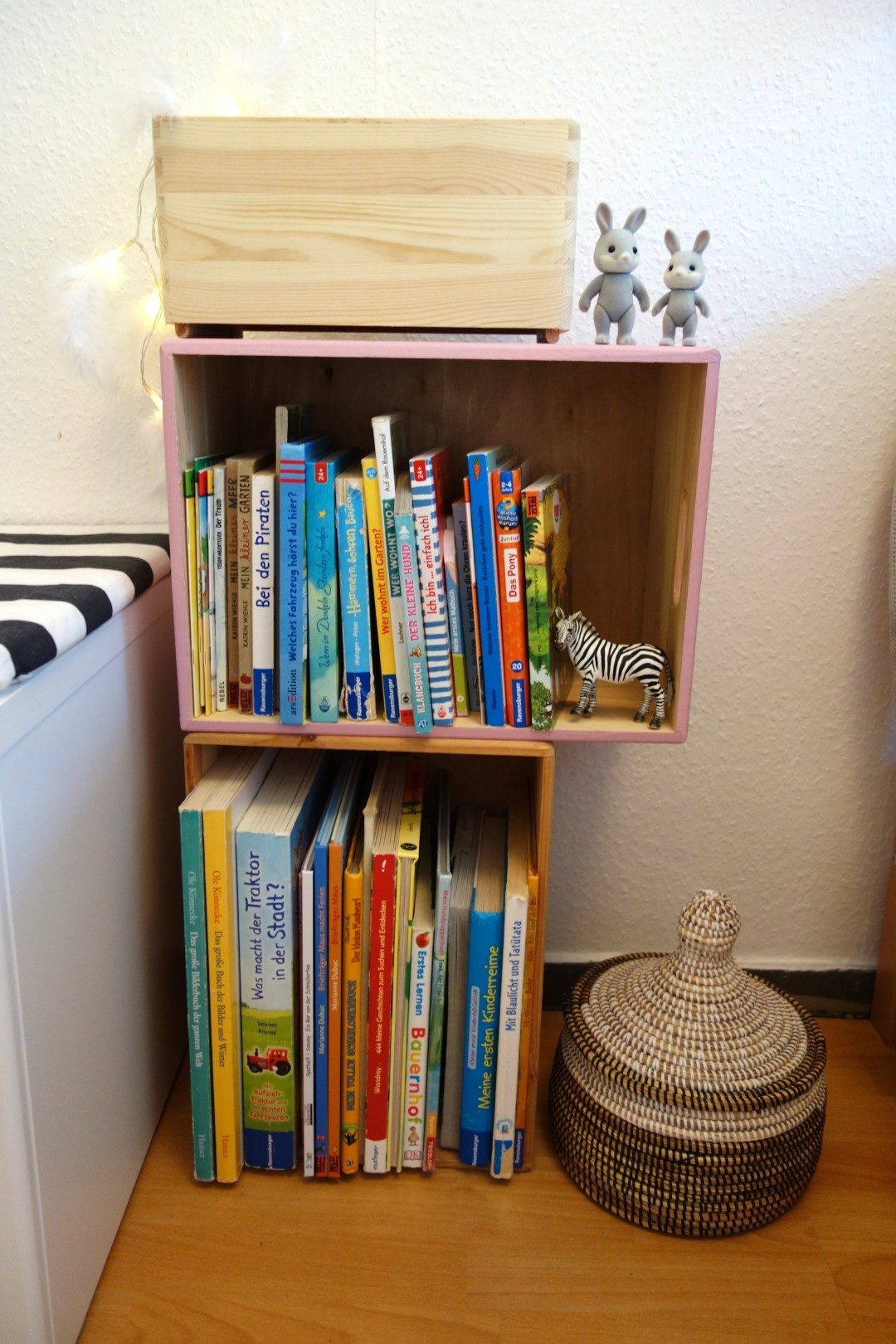 Diy Bücherregal  DIY Bücherregal für das Kinderzimmer