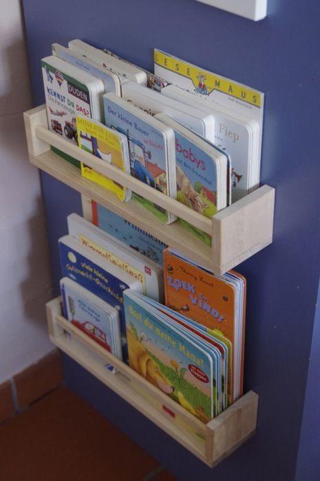 Diy Bücherregal  DiY Bücherregal ein IKEA Hack