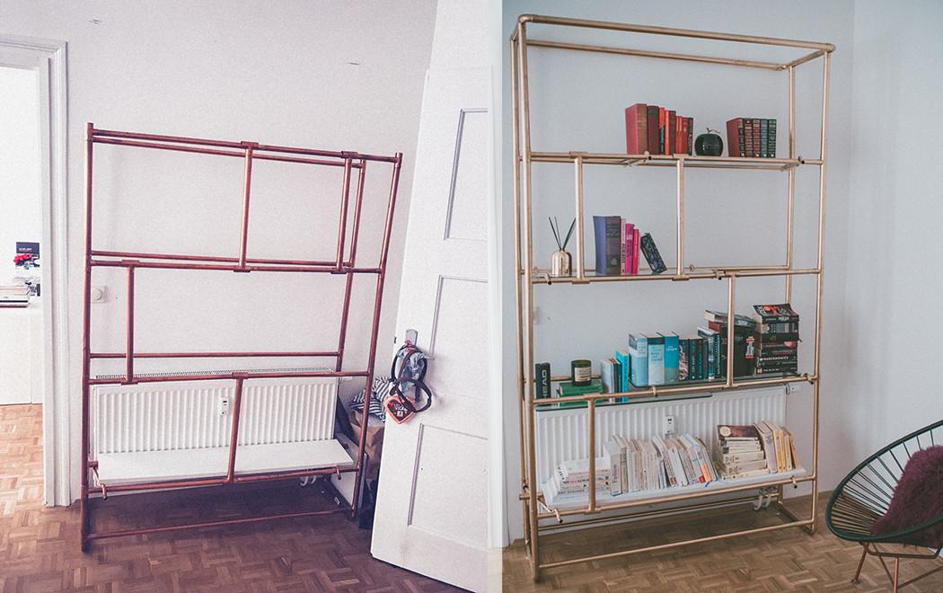 Diy Bücherregal  DIY Bücherregal
