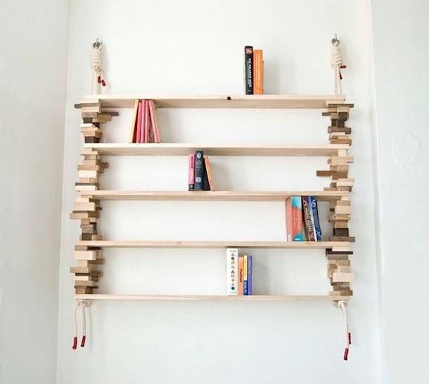 Diy Bücherregal  DIY Hängendes BücherregalGeschnackvoll