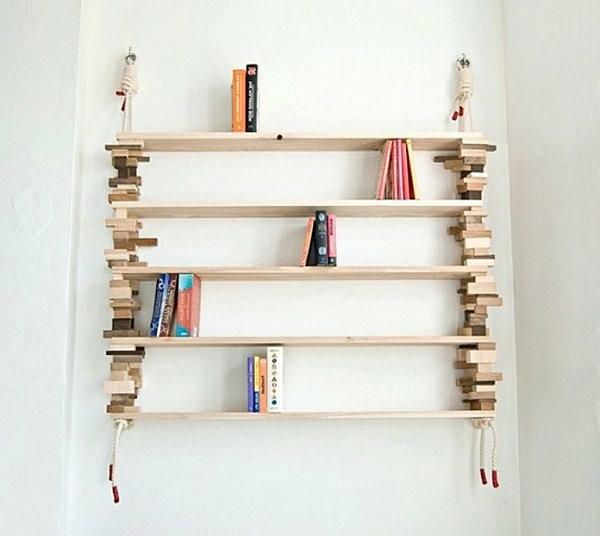 Diy Bücherregal  Bücherregal selber bauen 55 Ideen Archzine