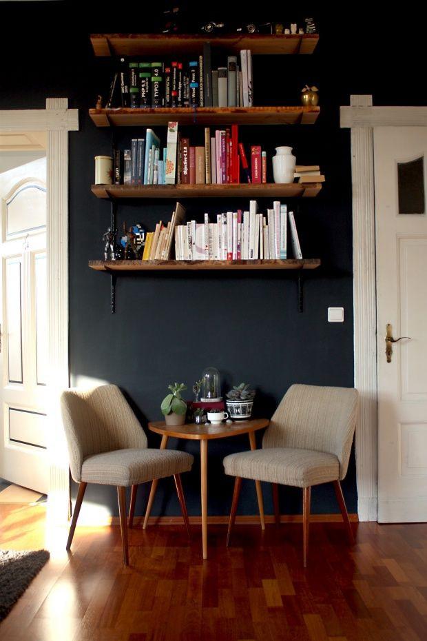 Diy Bücherregal  DIY Bücherregal Wohnzimmer