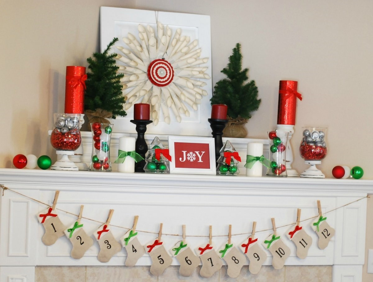 Diy Christmas Decoration  40 Outstanding DIY Christmas Decoration Ideas Interior Vogue